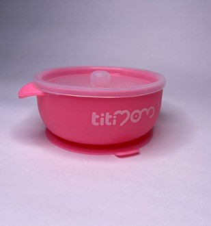 Bowl de Silicona  Succion